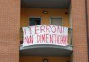 Gli striscioni contro Salvini a Campobasso