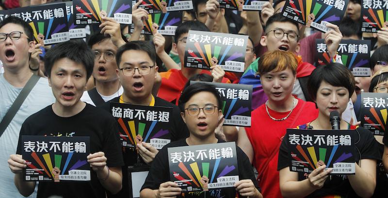 Taiwan ha legalizzato i matrimoni gay