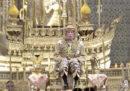 L'incoronazione del re in Thailandia