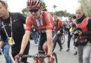 Tom Dumoulin si è ritirato dal Giro d'Italia dopo la caduta di ieri