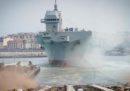Trieste, la più grande nave militare italiana costruita nel Dopoguerra