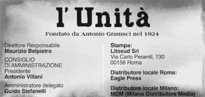 Cos'è questa storia di Maurizio Belpietro direttore per un giorno dell'Unità