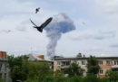 In Russia 79 persone sono state ferite da una forte esplosione in una fabbrica di esplosivi