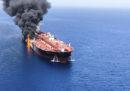 Anche il Regno Unito ha accusato l'Iran di aver attaccato le due petroliere nel golfo dell'Oman