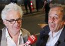 Michel Platini è stato rilasciato