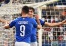 L'Italia Under 21 ha battuto 3-1 il Belgio