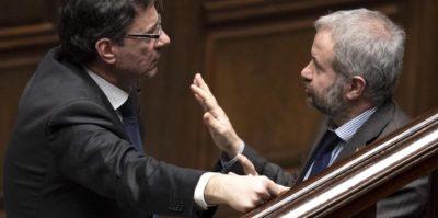 Giancarlo Giorgetti contro i minibot