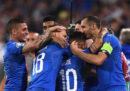 L'Italia ha battuto 2-1 la Bosnia nelle Qualificazioni agli Europei 2020
