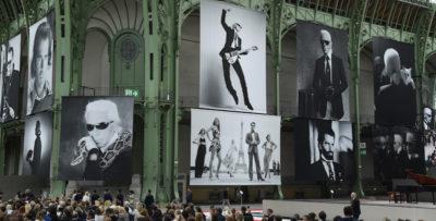 L'unica cerimonia per ricordare lo stilista Karl Lagerfeld