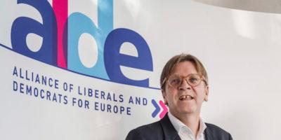 Il gruppo politico del parlamento europeo ALDE d'ora in poi si chiamerà Renew Europe