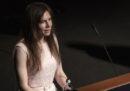 Il video del discorso di Amanda Knox a Modena