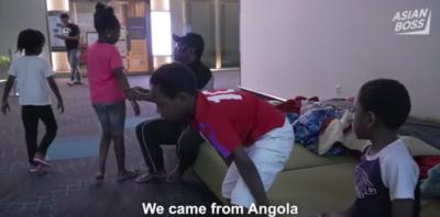 La storia della famiglia angolana bloccata da sei mesi in un aeroporto coreano