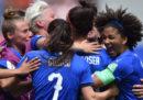 La partita dei Mondiali di calcio femminile tra Italia e Australia è stata vista da più di tre milioni e mezzo di telespettatori