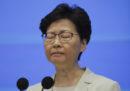 La leader di Hong Kong si è scusata di nuovo per le tensioni nate a causa del contestato emendamento sull'estradizione in Cina