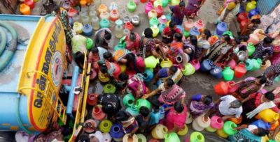 A Chennai manca l'acqua