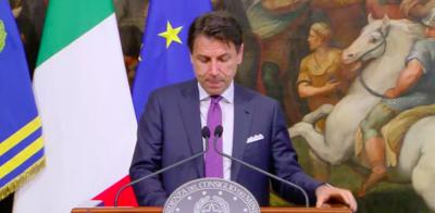 Giuseppe Conte riferirà in Senato sul caso Lega-Russia il prossimo 24 luglio