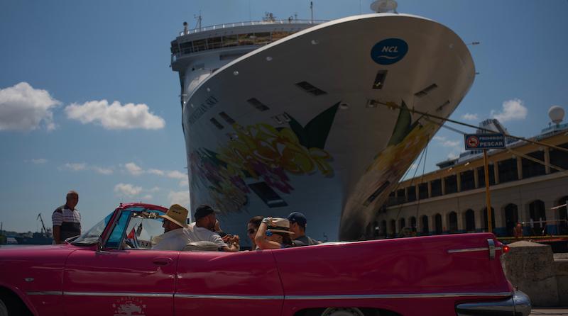 Risultati immagini per cuba navi crociere embargo