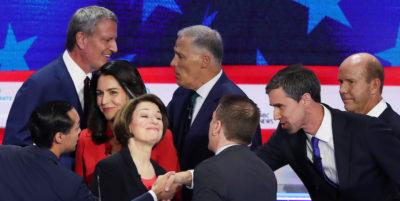 Il primo dibattito tra i candidati Democratici