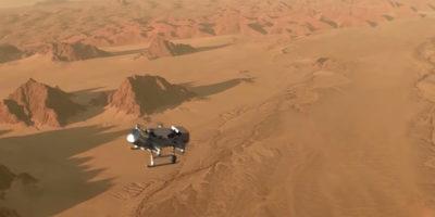La NASA invierà un lander-drone su Titano