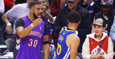 Drake si è fatto notare alle finali NBA