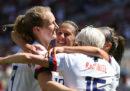 Le americane nel calcio hanno una grande storia