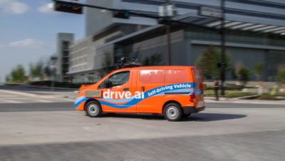 Apple ha acquisito Drive.ai, una startup per i sistemi di guida autonoma dei veicoli