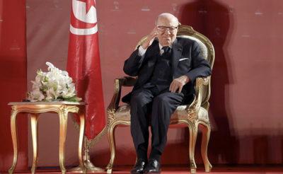 Tunisia: Essebsi in ospedale per malore