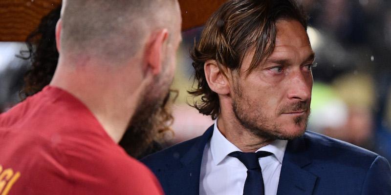 La conferenza stampa di Francesco Totti in diretta streaming