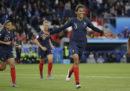 La Francia ha battuto 4-0 la Corea del Sud nella partita inaugurale dei Mondiali femminili