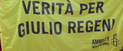 Il nuovo sindaco leghista di Sassuolo ha fatto rimuovere lo striscione per Giulio Regeni dalla facciata del Comune