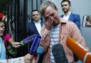 Il video del momento in cui il giornalista russo Ivan Golunov è tornato in libertà