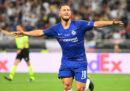 Il calciatore belga Eden Hazard è stato comprato dal Real Madrid per almeno 100 milioni di euro