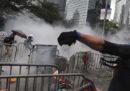 Le foto delle proteste che stanno mettendo in difficoltà il governo di Hong Kong