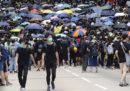A Hong Kong migliaia di persone stanno manifestando per ottenere la definitiva cancellazione dell'emendamento sull'estradizione