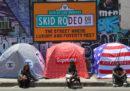 C'è una crisi dei senzatetto anche a Los Angeles