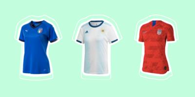 Tutte le maglie dei Mondiali femminili