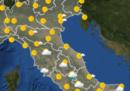 Le previsioni meteo per venerdì 28 giugno