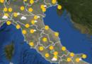 Le previsioni meteo per sabato 29 giugno