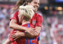 La prima giornata del Campionato mondiale di calcio femminile