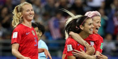 Ai Mondiali femminili di calcio gli Stati Uniti hanno vinto 13-0 contro la Thailandia