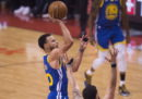 I Golden State Warriors hanno battuto i Toronto Raptors in gara-5 delle finali NBA