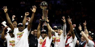 I Toronto Raptors hanno vinto la NBA