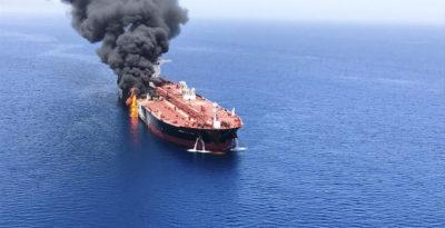 Golfo di Oman, l'Arabia Saudita accusa l'Iran per l'attacco a due petroliere