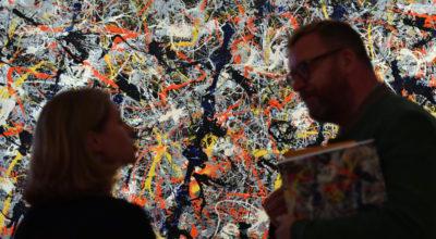 La truffa dei finti Pollock
