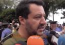 Il video di Salvini che perde la pazienza con una giornalista di SkyTg24