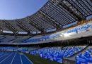 """Le foto del """"nuovo"""" stadio San Paolo di Napoli"""