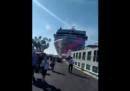 L'incidente della grande nave da crociera Opera a Venezia