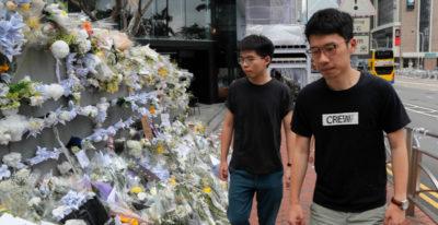 Hong Kong: scarcerato leader rivolta ombrelli Joshua Wong