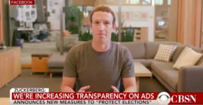 Gira un video falsificato di Mark Zuckerberg