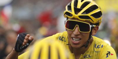 Il ciclista colombiano Egan Bernal ha vinto il Tour de France